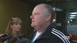 Rob Ford says John Tory lying on pledge to privatize garbage collection east of Yonge